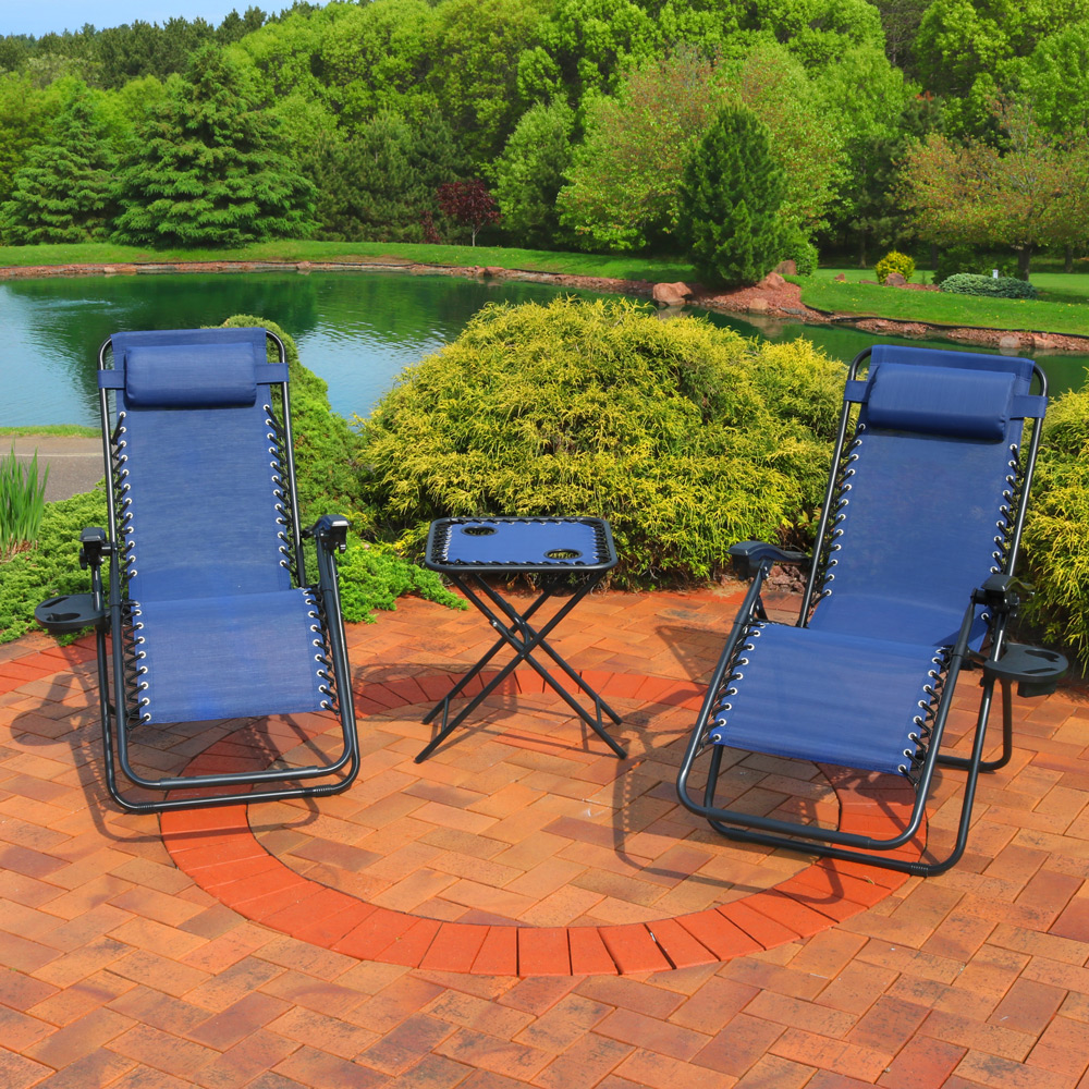 Sunnydaze Zero Gravity Reclining Lounge Chairs Picture 501