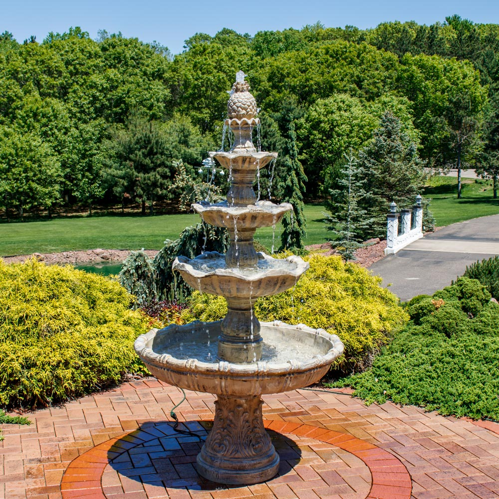 Sunnydaze Tier Grand Courtyard Fountain Tall Earth  Picture 73