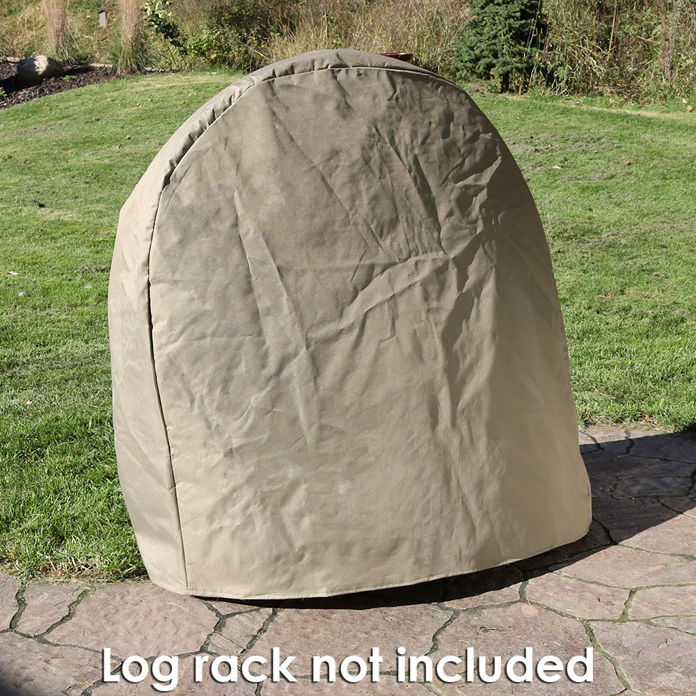 Sunnydaze Khaki Firewood Log Hoop Cover Only Picture 883