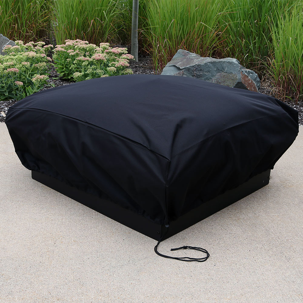 Sunnydaze Heavy Duty Square Fire Pit Cover Square Picture 959