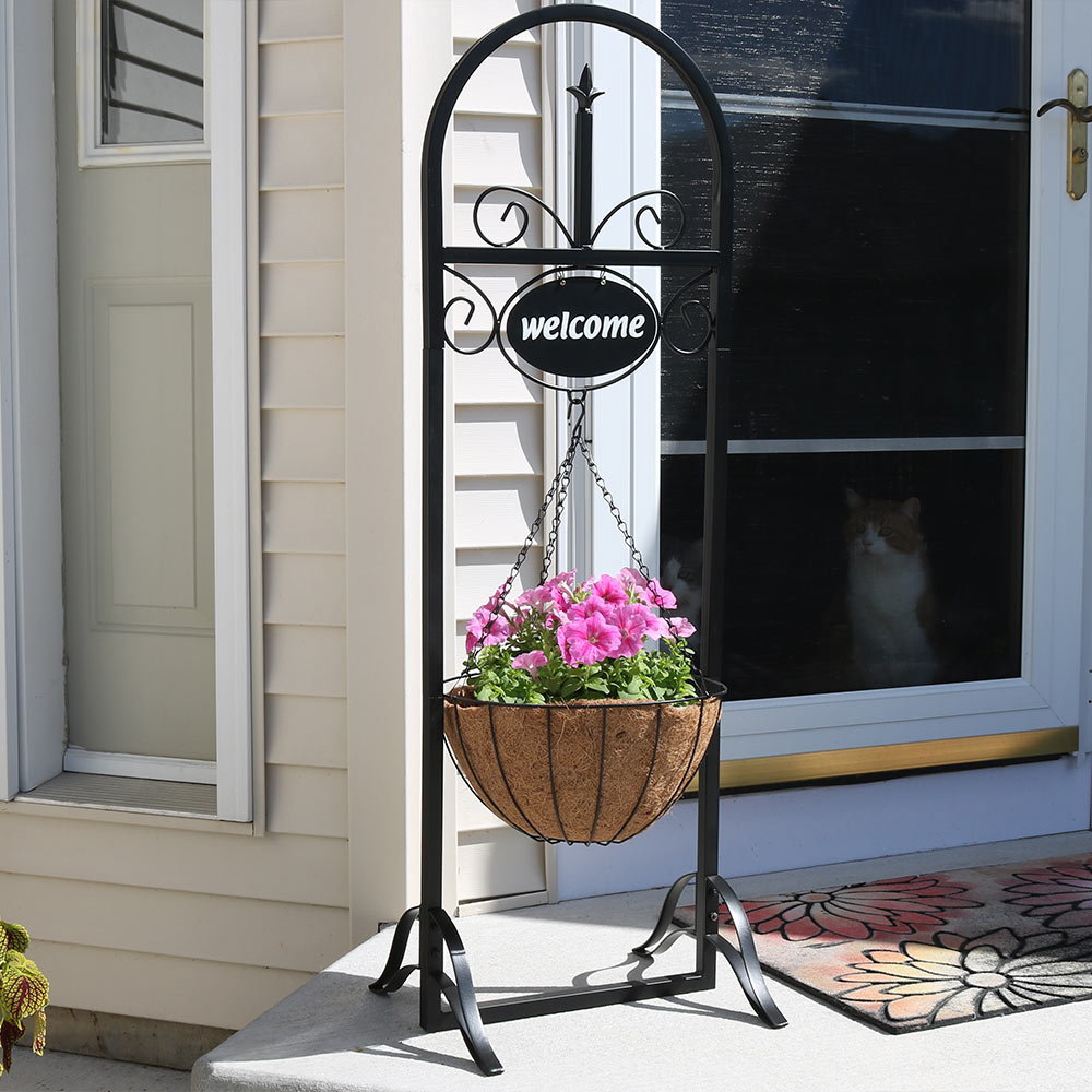 Sunnydaze Outdoor Decorative Welcome Sign Picture 864