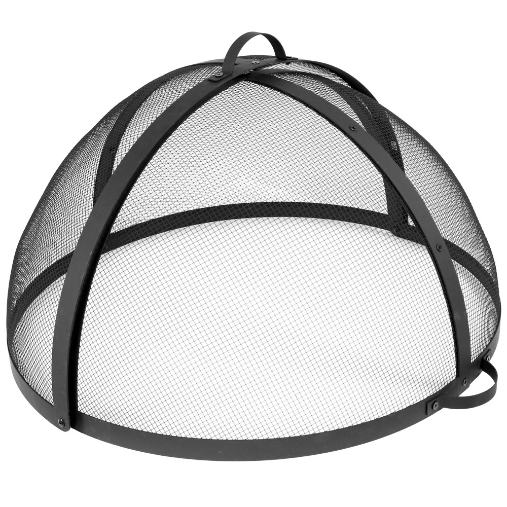 Sunnydaze Diameter Easy Access Fire Pit Spark Screen Image 851