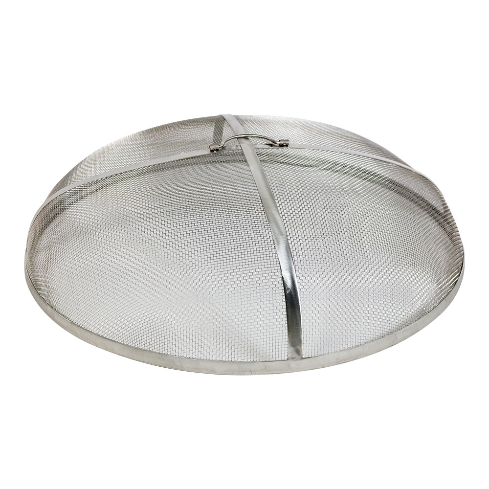Stainless Steel Fire Pit Spark Screen, Durable Mesh Cover - Multiple Sizes | eBay