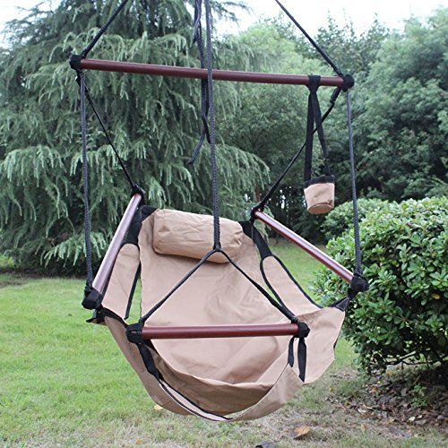 Sunnydaze Deluxe Hanging Hammock Air Chair Picture 515