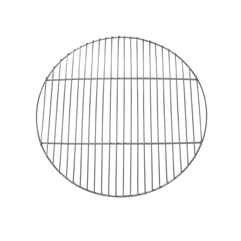 Image of Sunnydaze Chrome Plated Cooking Grate for Grilling, 24 Inch Diameter