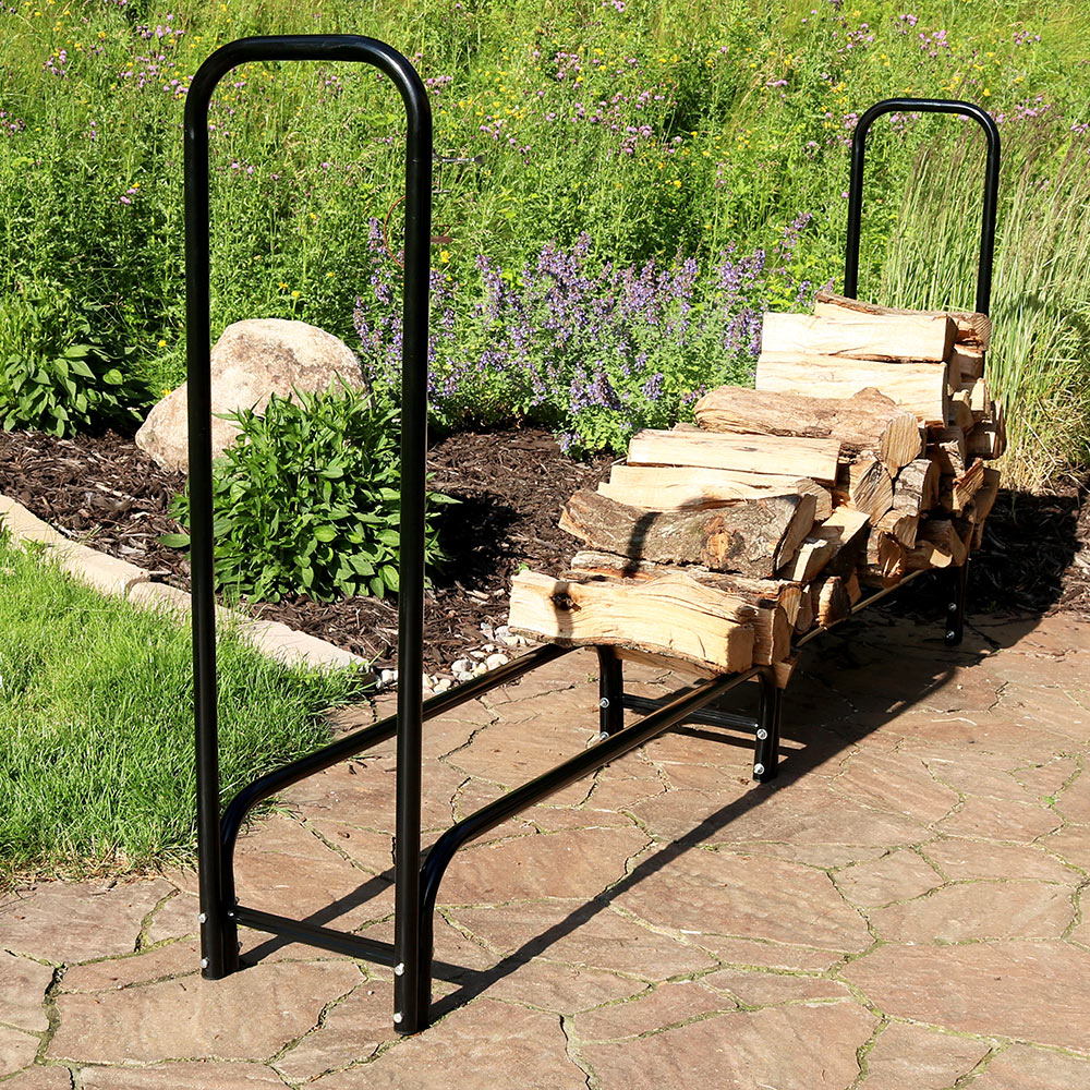 Sunnydaze Foot Firewood Log Rack Log Rack Only Picture 956
