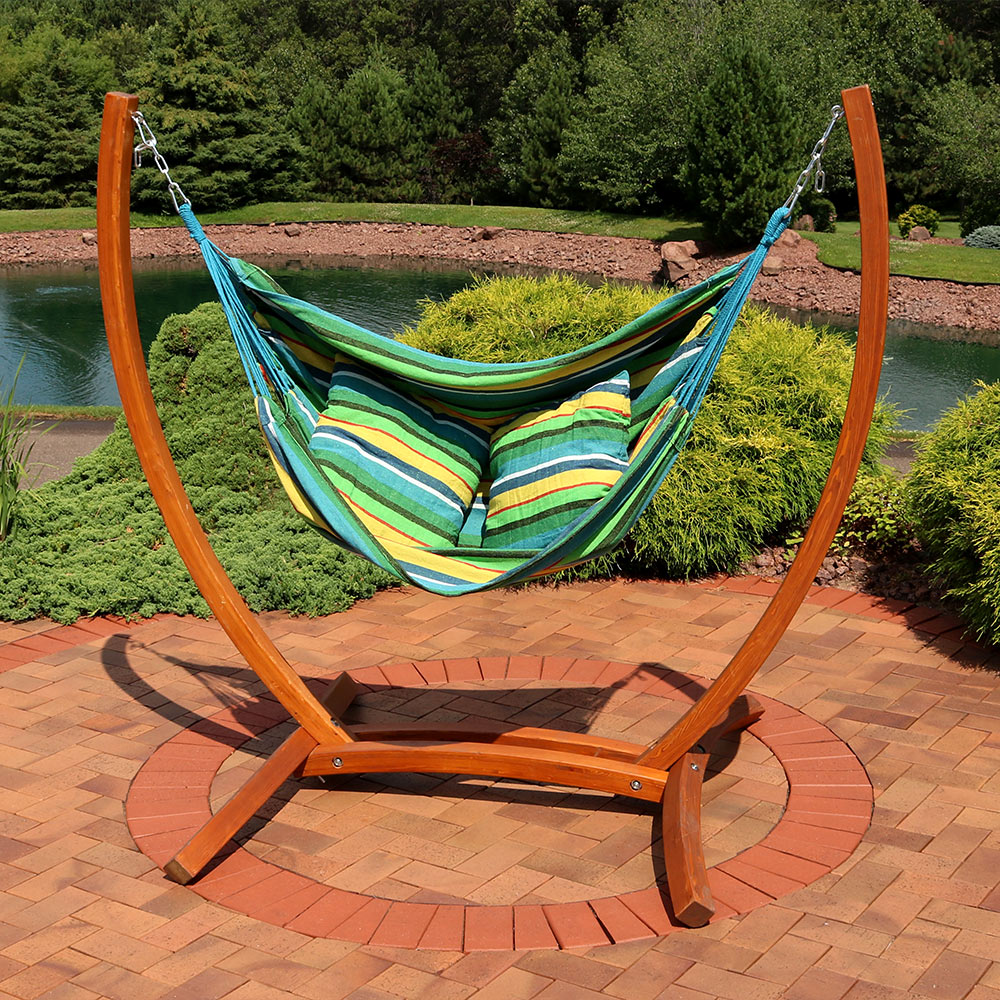 Sunnydaze Hanging Hammock Chair Swing Image 699