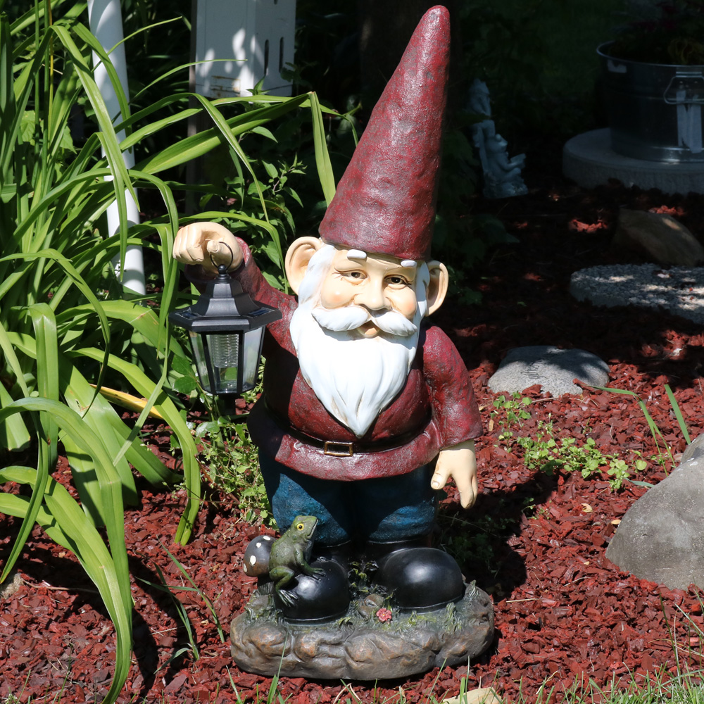 Sammy The Solar Lantern Gnome Picture 699