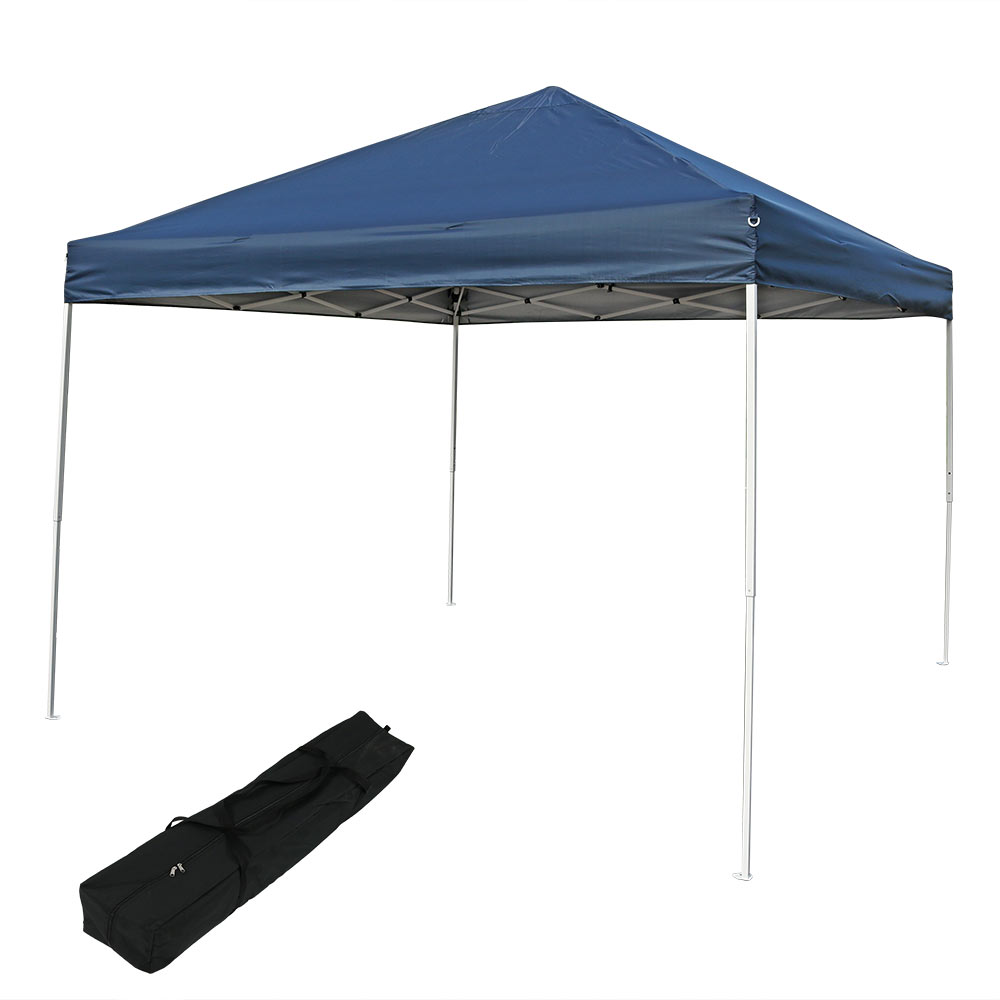 Instant Shade Tent : Sunnydaze quick up instant canopy event tent shelter w