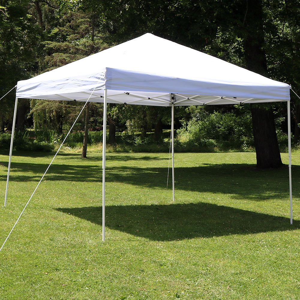 Portal Instant Shade Shelter : Sunnydaze quick up instant canopy event shelter with
