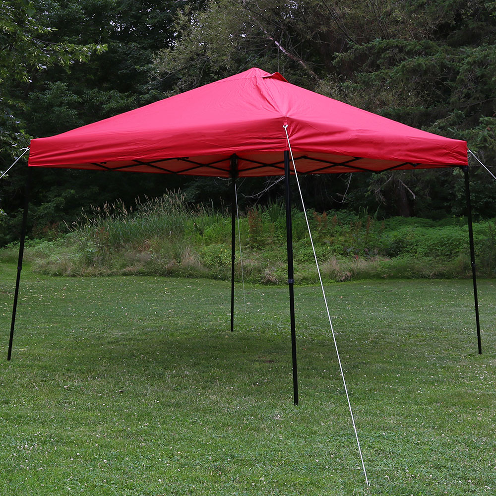 Sunnydaze Heavy Duty Straight Leg Quick Up Instant Canopy Event Shelter Foot Includes  Image 296