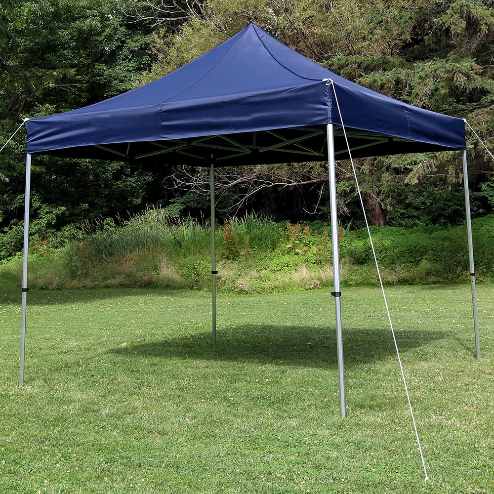 Sunnydaze Commercial Grade Heavy Duty Aluminum Straight Leg Quick Up Instant Canopy Event  Image 527