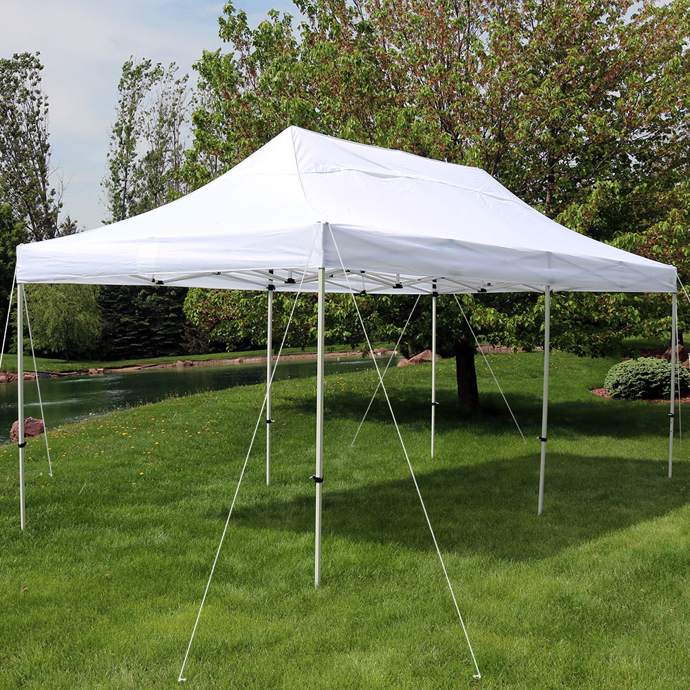 Sunnydaze Quick Up Instant Pop Up Canopy Party Wedding Shelter Foot  Picture 213