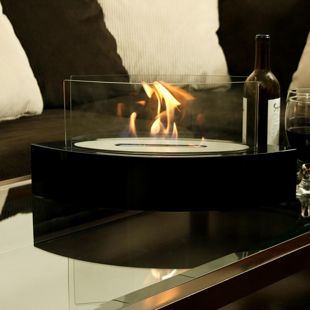Sunnydaze Barco Ventless Tabletop Bio Ethanol Fireplace  Photo