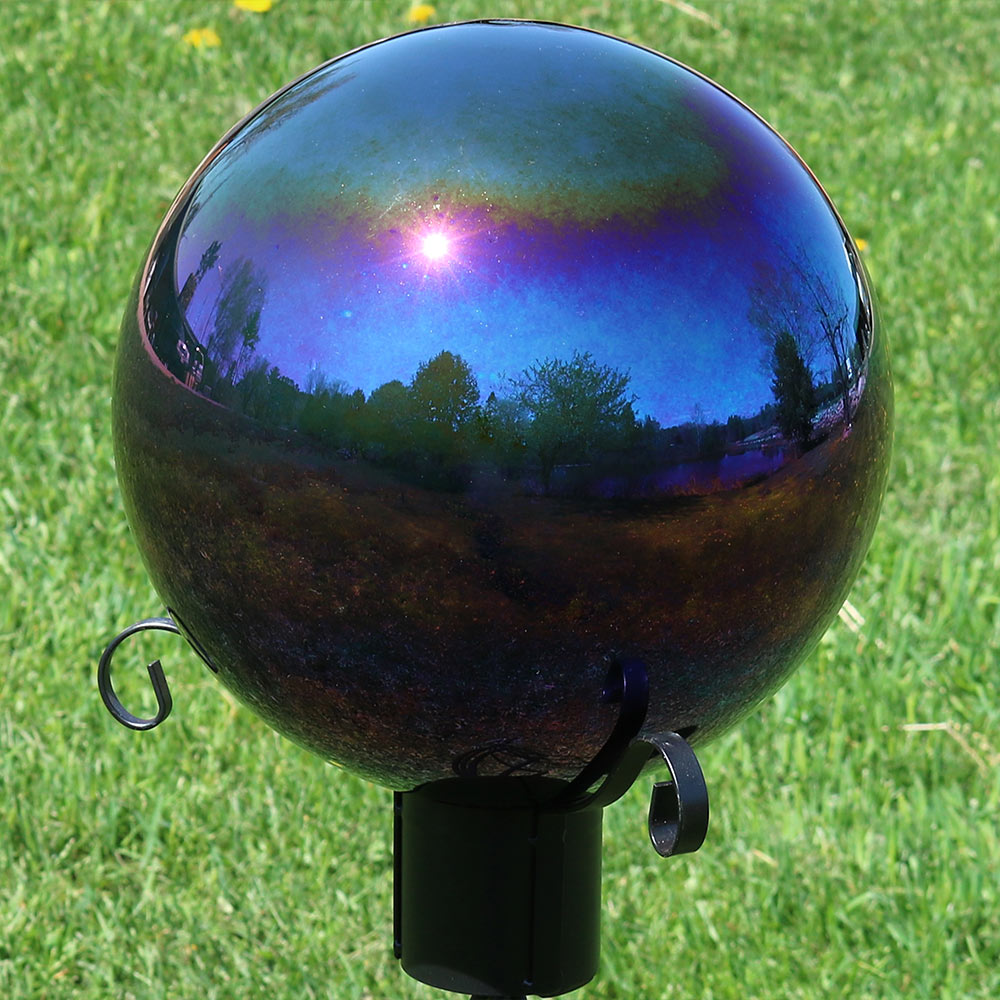 Sunnydaze Glass Gazing Globe Ball Picture 970