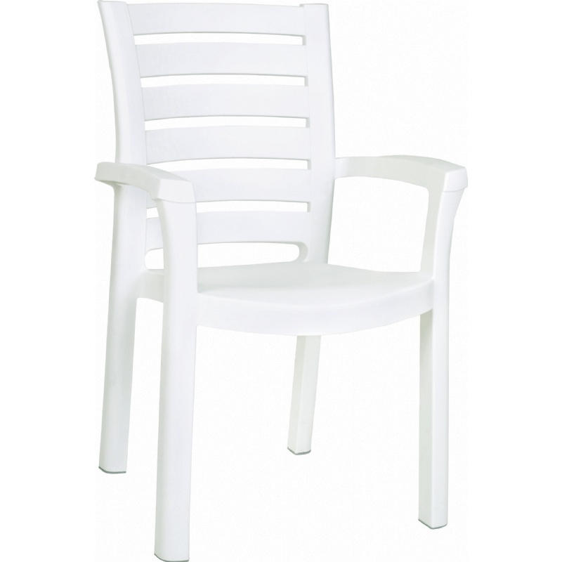 Image of Marina Resin Dining Armchair (Set of 4)