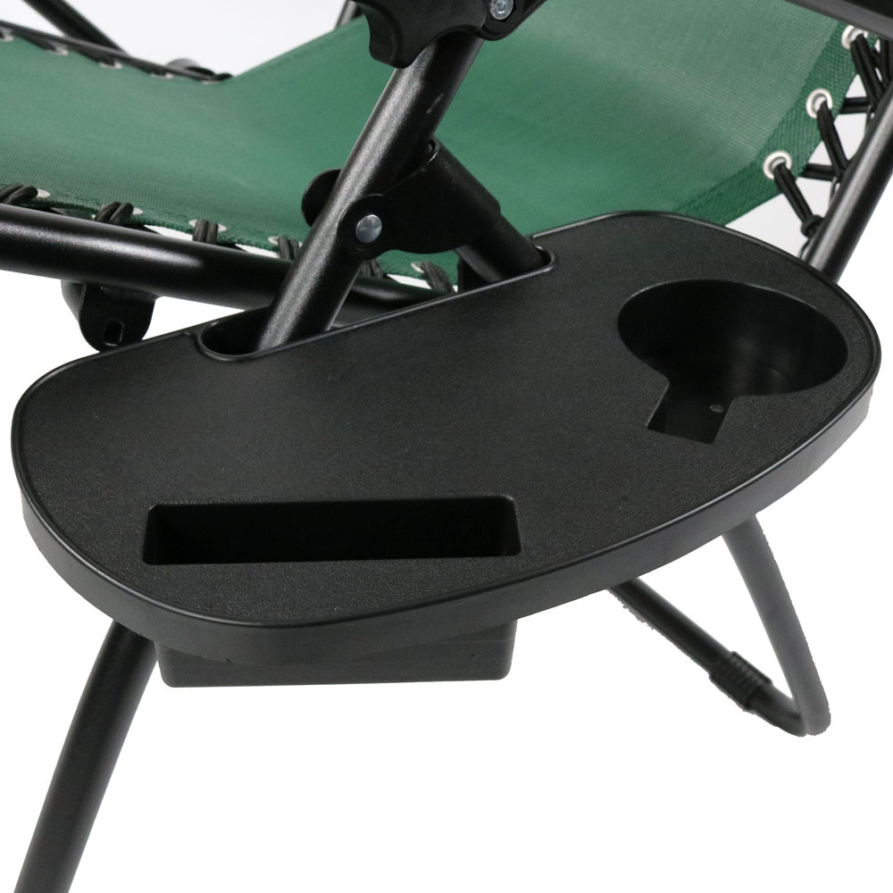Oversized Zero Gravity Lounge Chair W Pillow Amp Cup Holder