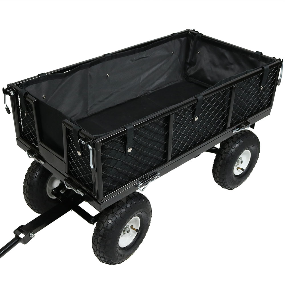 Heavy Duty Polyester : Garden utility cart liner heavy duty polyester protector