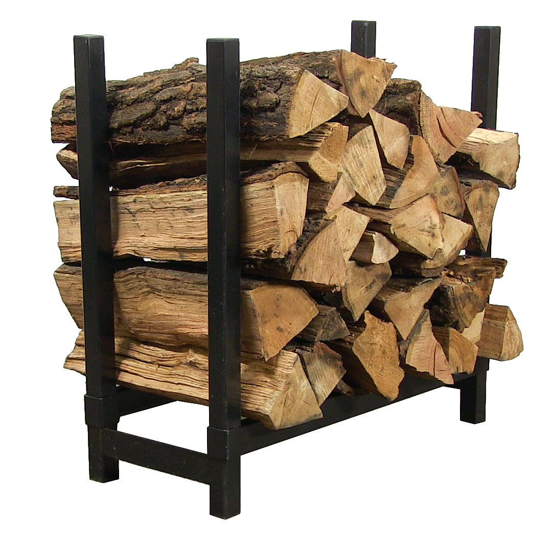 Indoor firewood log rack foot steel strong storage