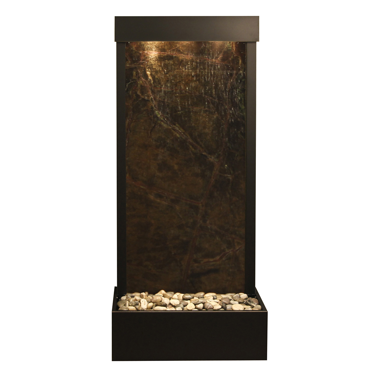 Harmony River Fountain Flush Mount Green Marble Photo