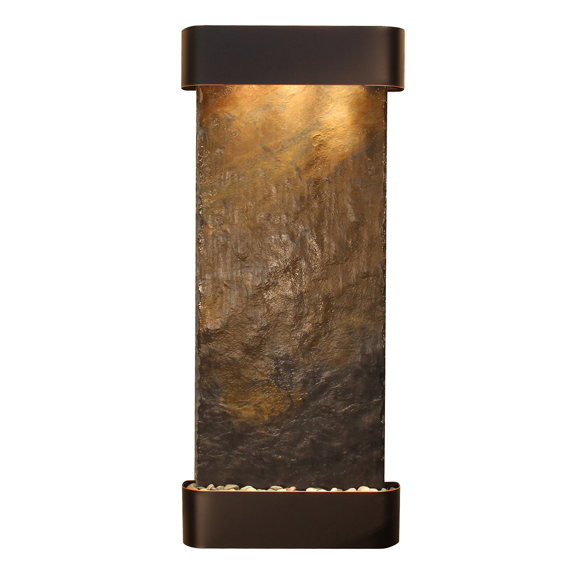 Inspiration Falls Fountain Rounded Color Natural Slate Photo