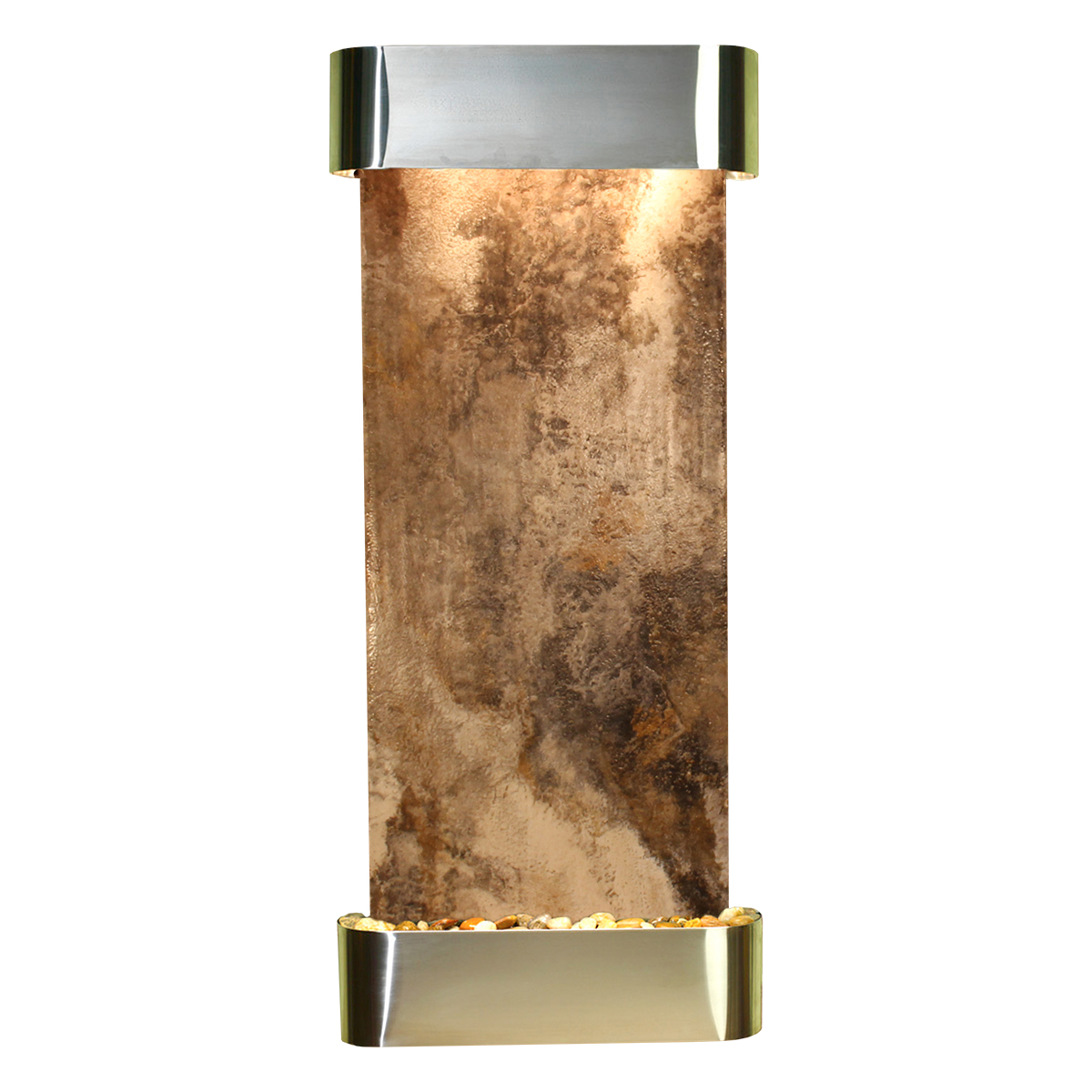 Inspiration Falls Fountain Rounded Travertine Photo