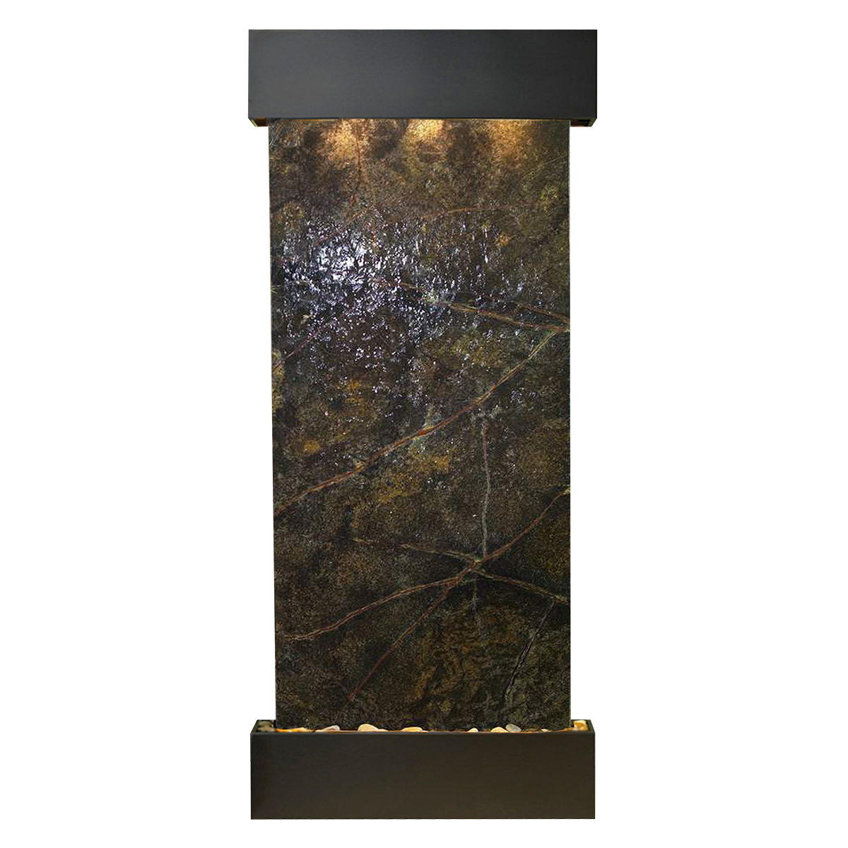 Inspiration Falls Fountain Squared Green Marble Photo