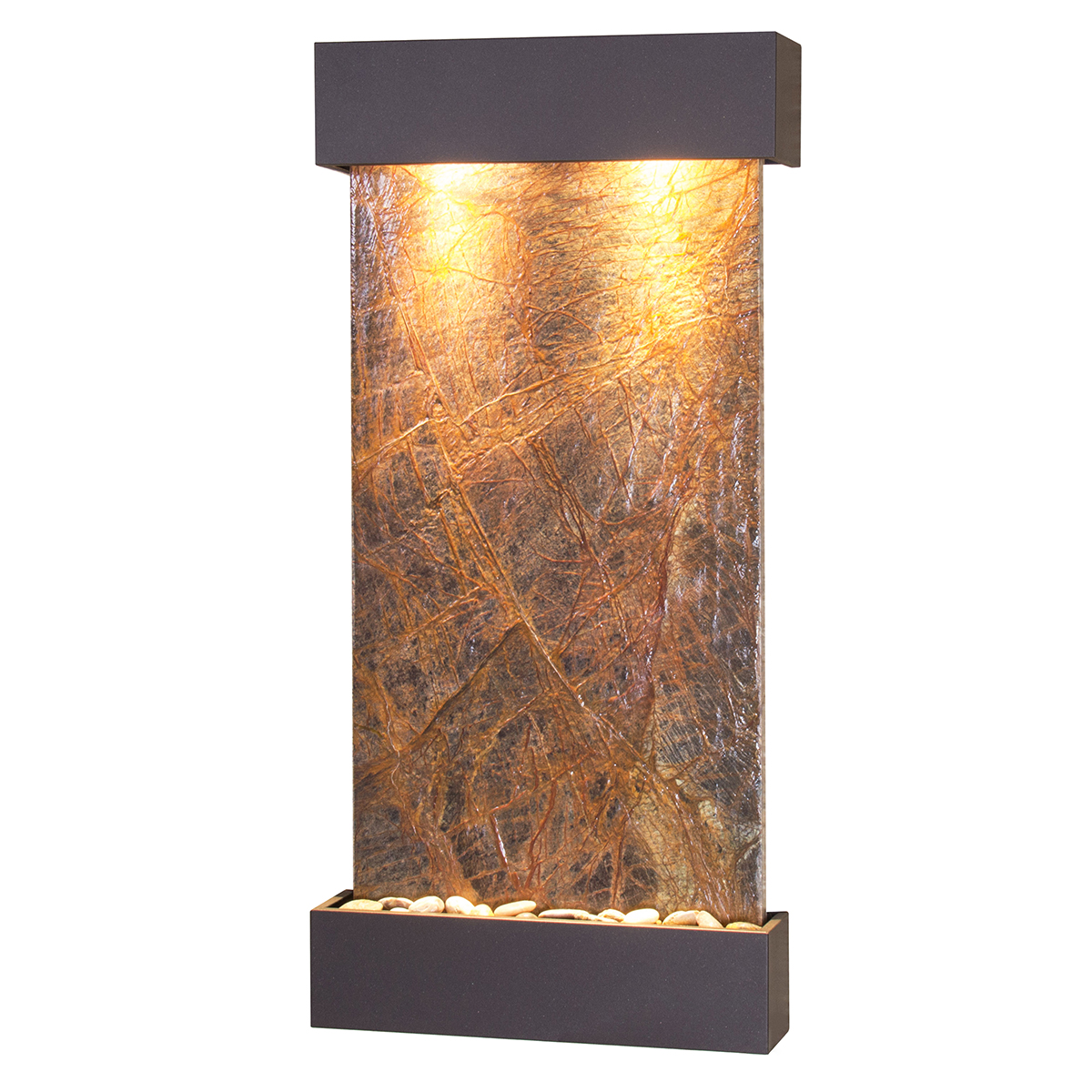 Whispering Creek Fountain Brown Marble Photo