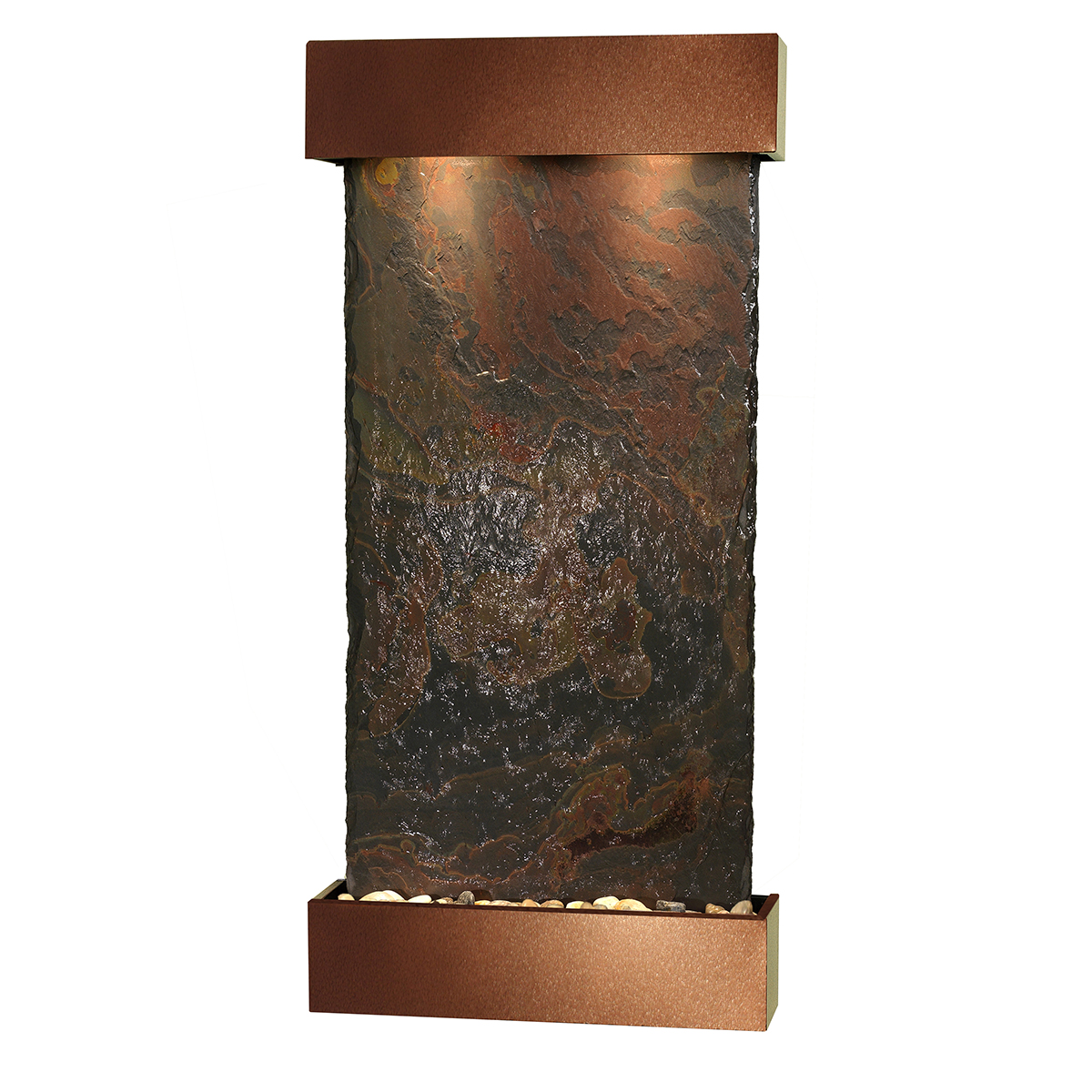 Whispering Creek Fountain Brown Color Natural Slate Photo