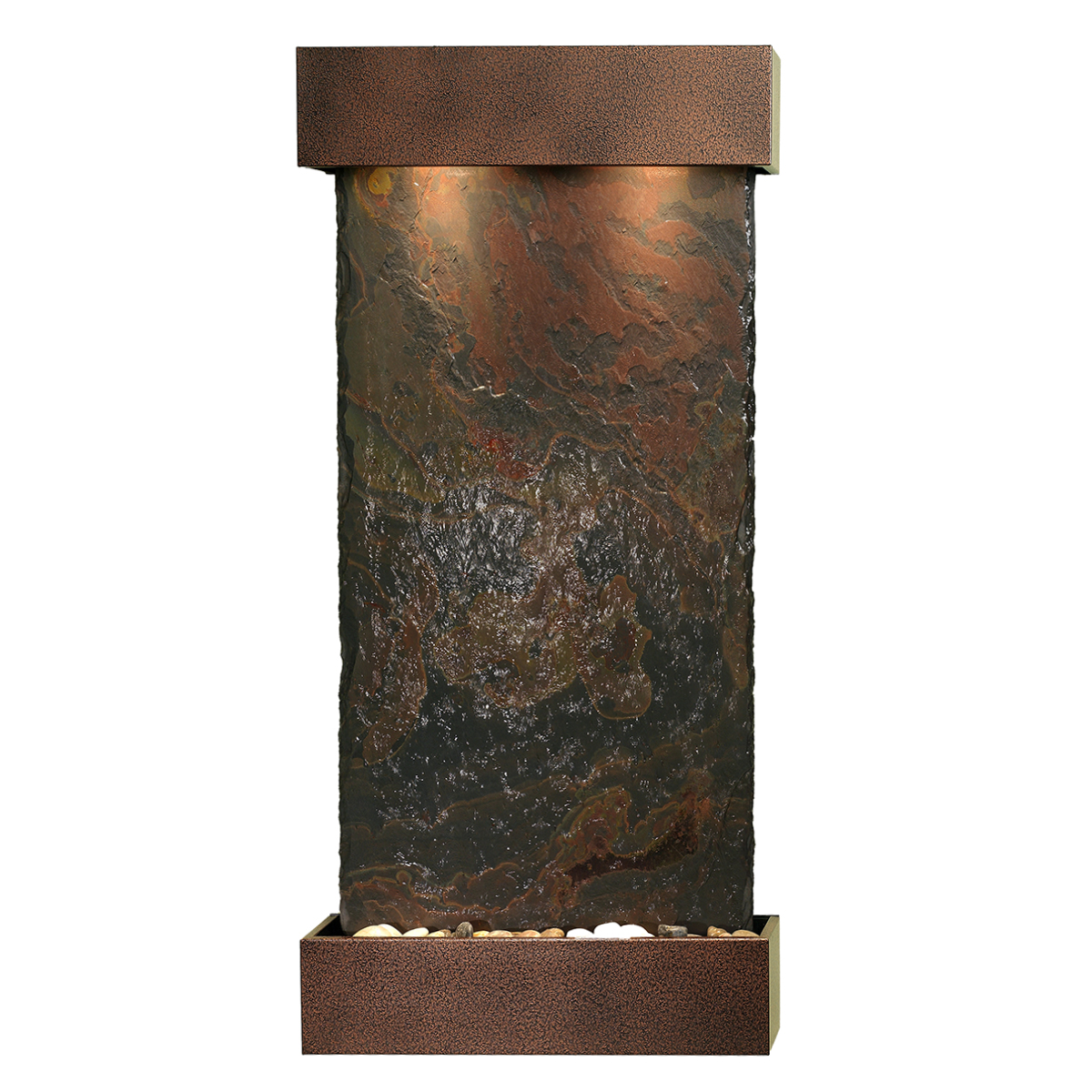 Whispering Creek Fountain Vein Color Natural Slate Photo