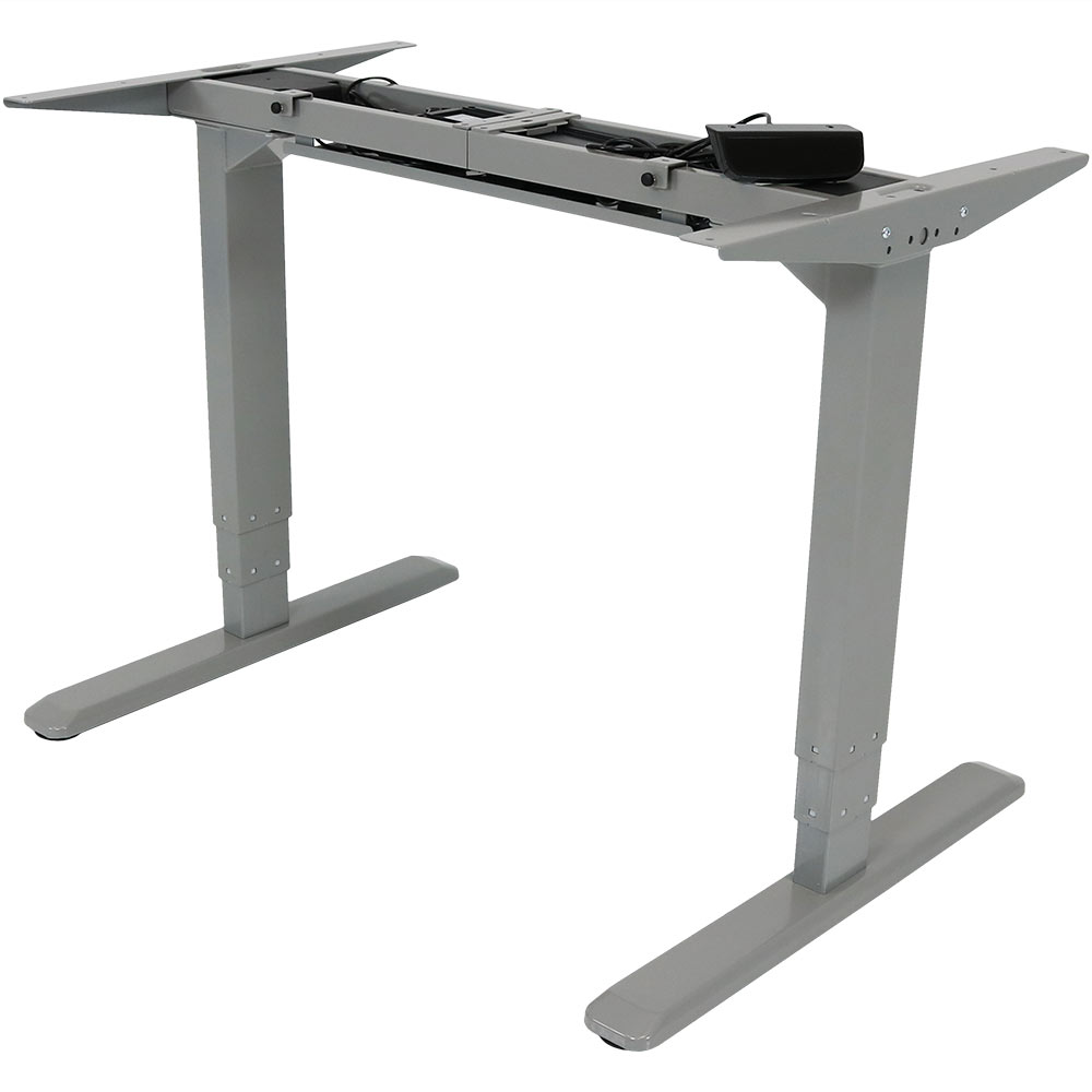 Height Sit Stand Desk Frame Touchscreen Programmable Height Preset Photo