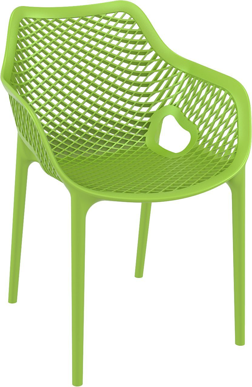 Dining Arm Chair Tropical Green