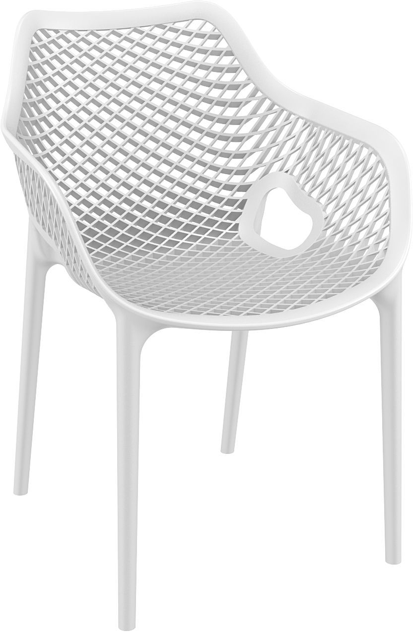 Dining Arm Chair White Photo