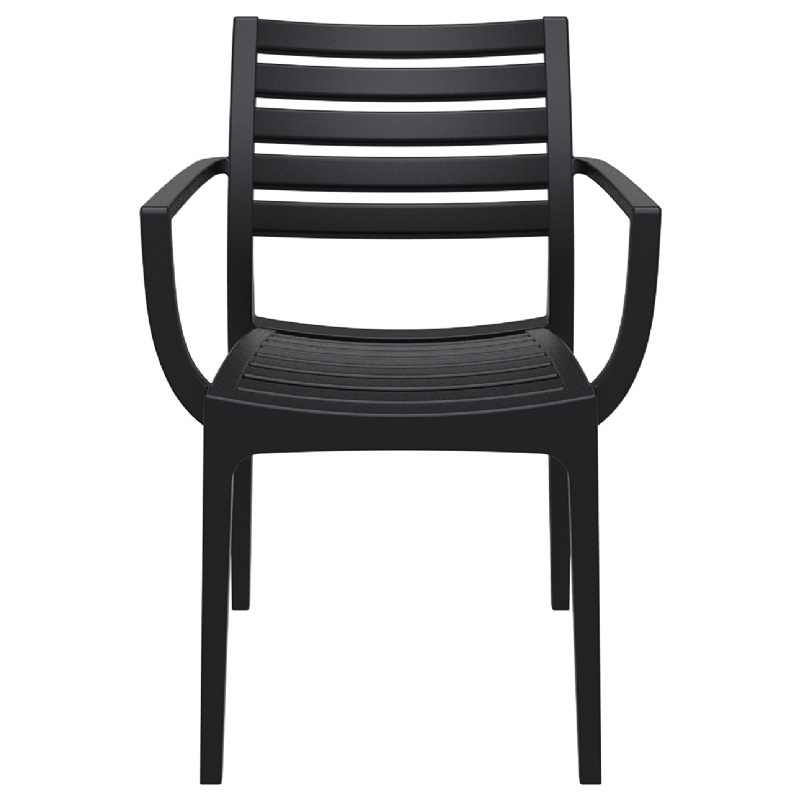 Dining Arm Chair Black Photo