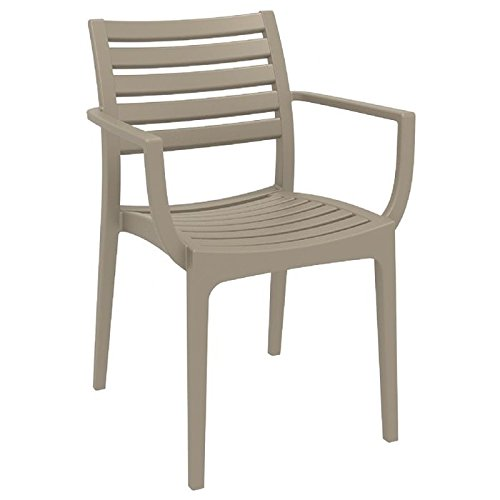 Dining Arm Chair Dove Gray Photo