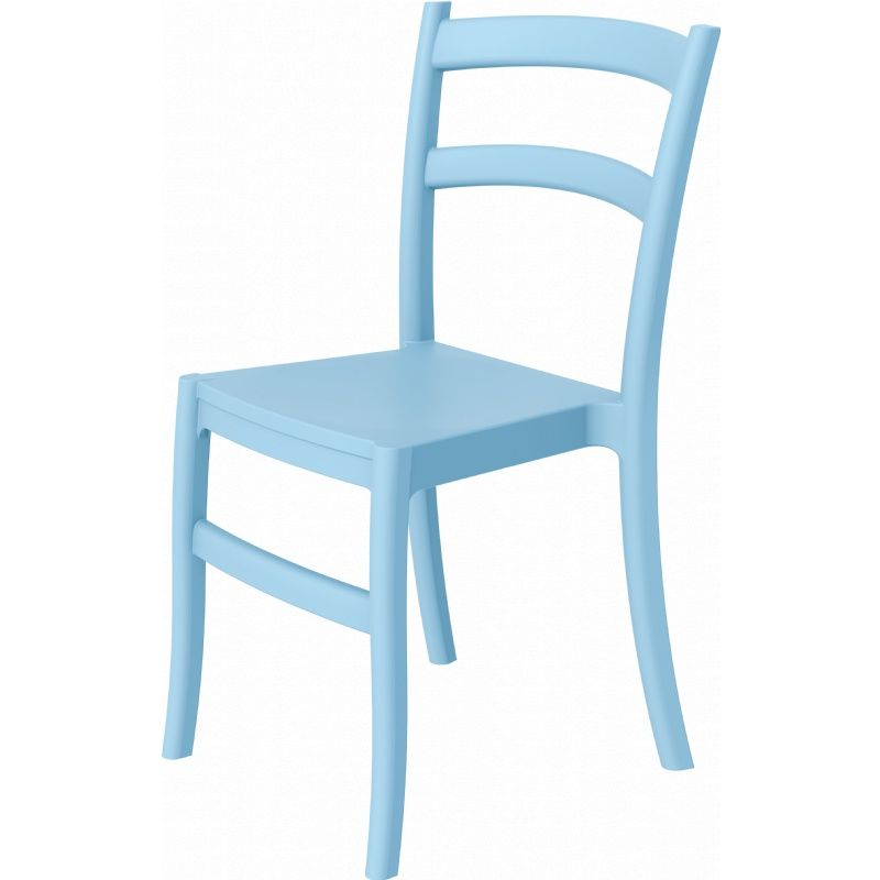 Dining Chair Light Blue Photo