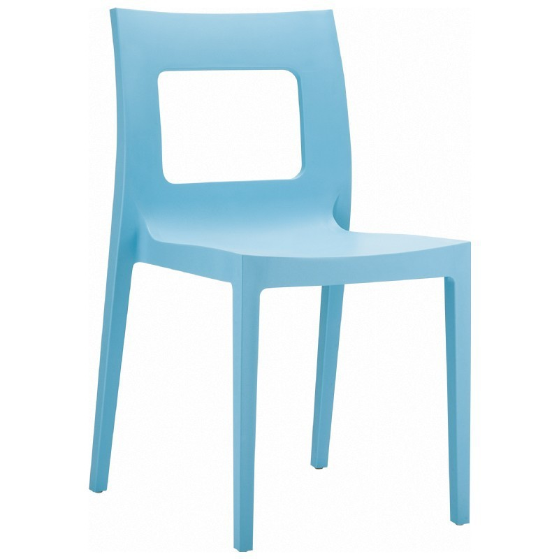 Dining Chair Blue Photo