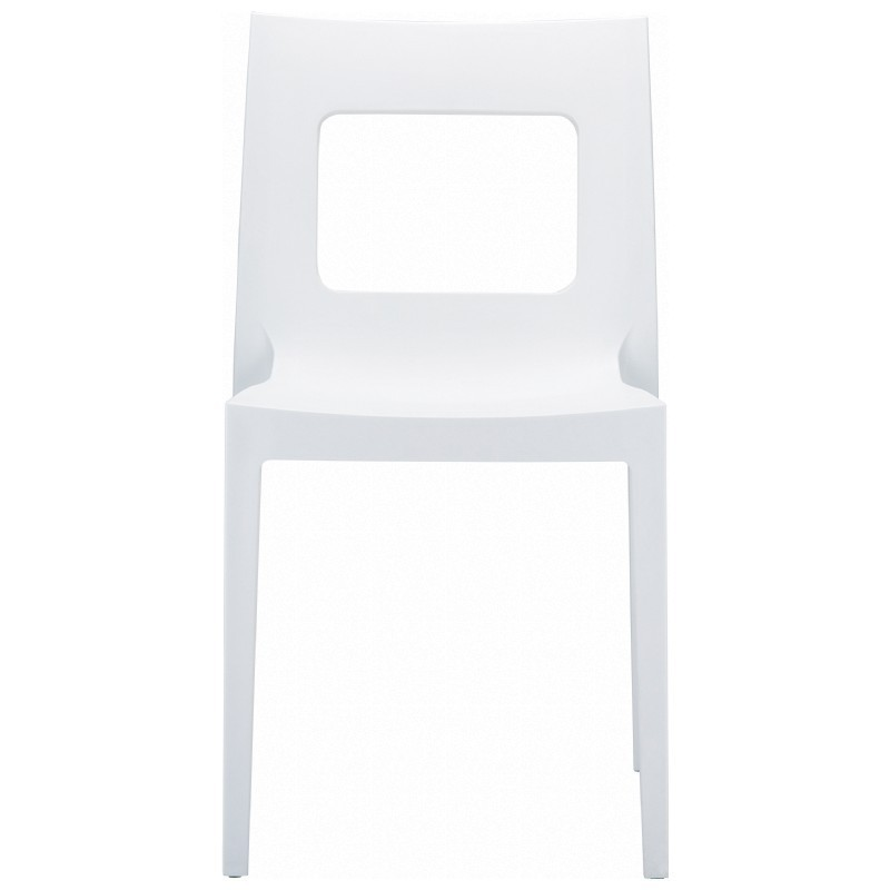 Dining Chair White Photo
