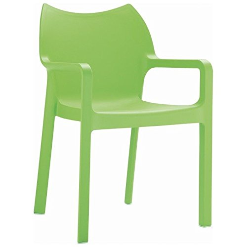 Stackable Armchair Tropical Green Photo