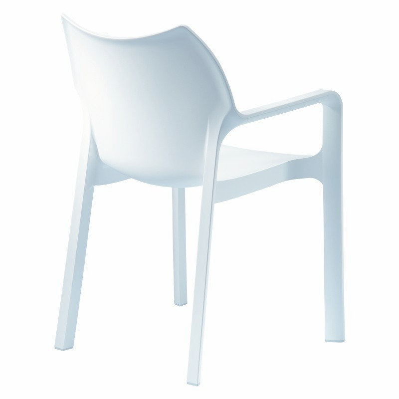 Stackable Armchair White Photo