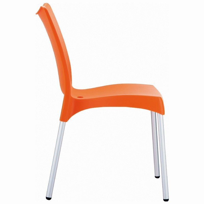 Dining Chair Orange Photo