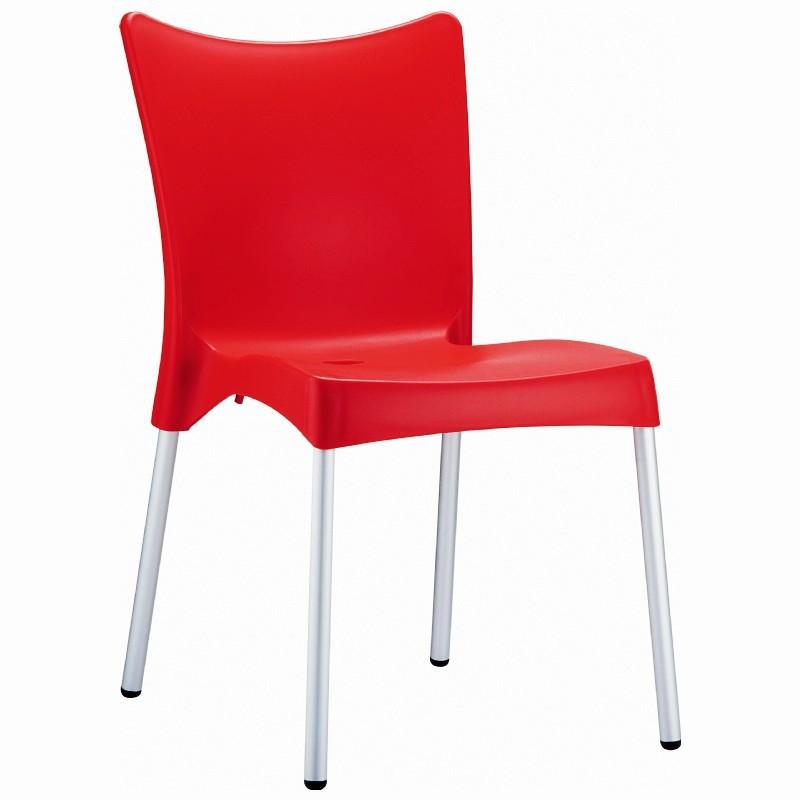 Dining Chair Red Photo