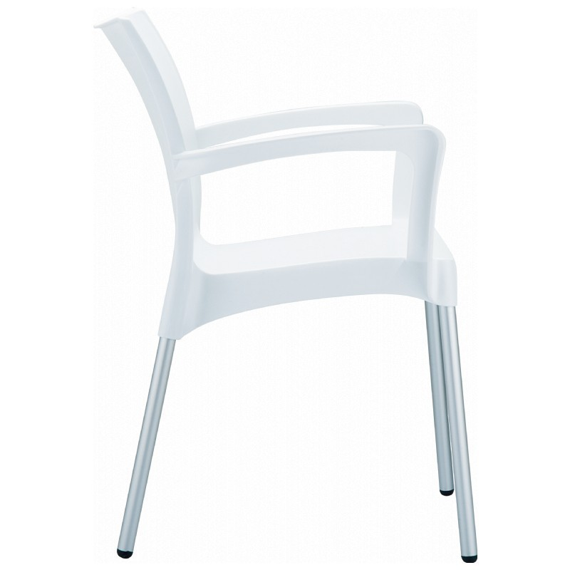 Whi Armchair White Photo