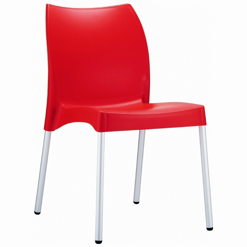 Vita Dining Chair Red Photo