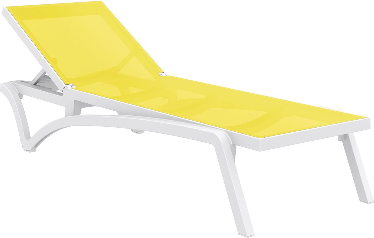 Pacific Sling Chaise Lounge Yellow Photo