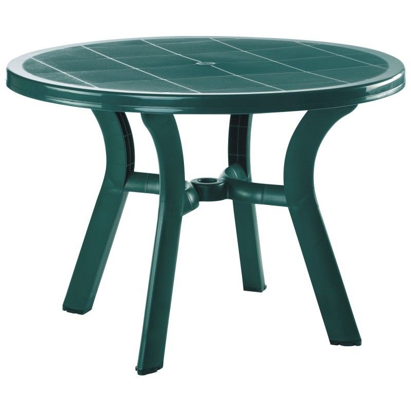 Round Dining Table Green