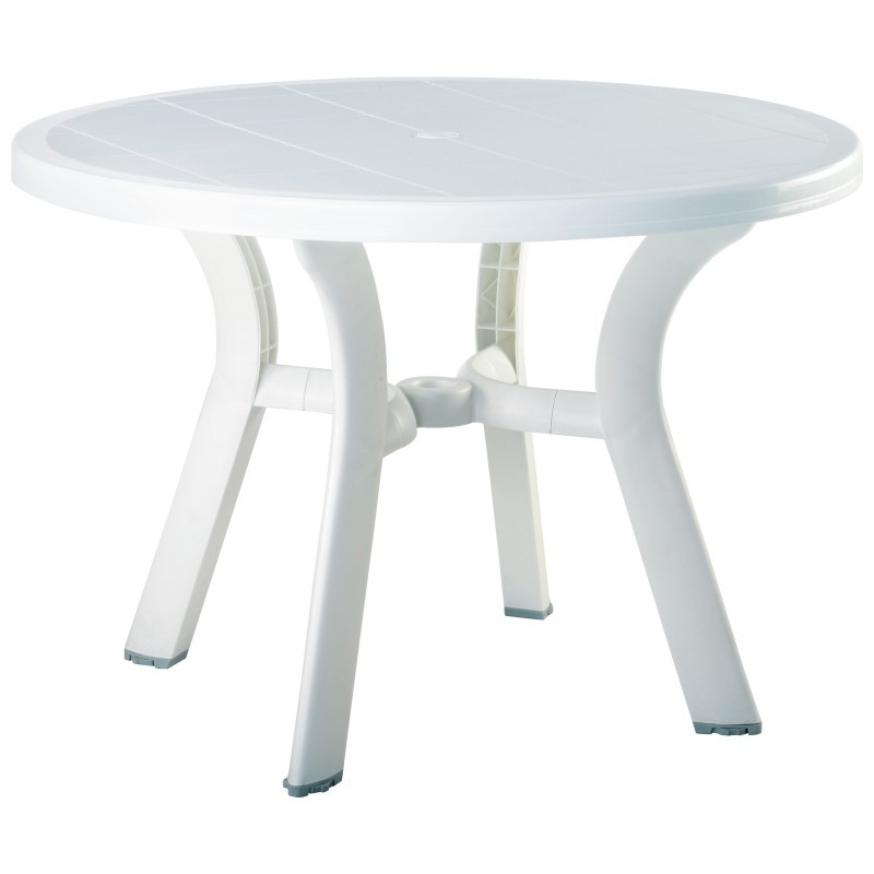 Round Dining Table White Photo