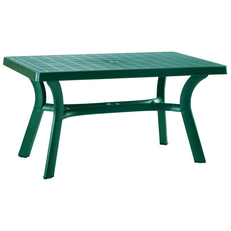 Sunrise Rectangle Table Green Photo