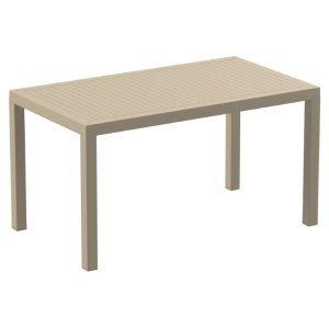 Ares Resin Rectangle Dining Table Dove  Image 440