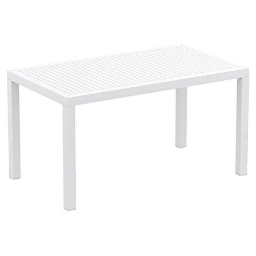 Rectangle Dining Table White Photo